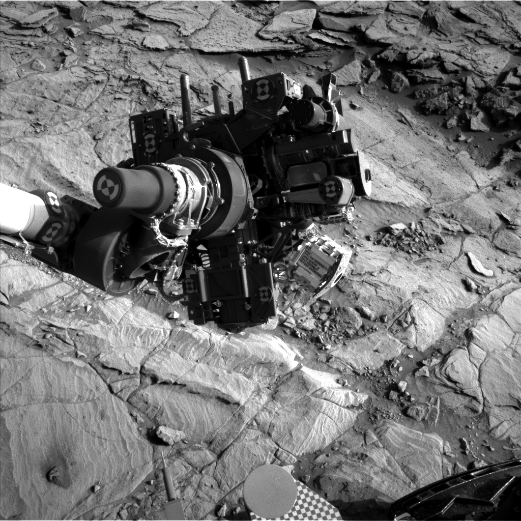 Nasa's Mars rover Curiosity acquired this image using its Left Navigation Camera on Sol 1133, at drive 676, site number 50