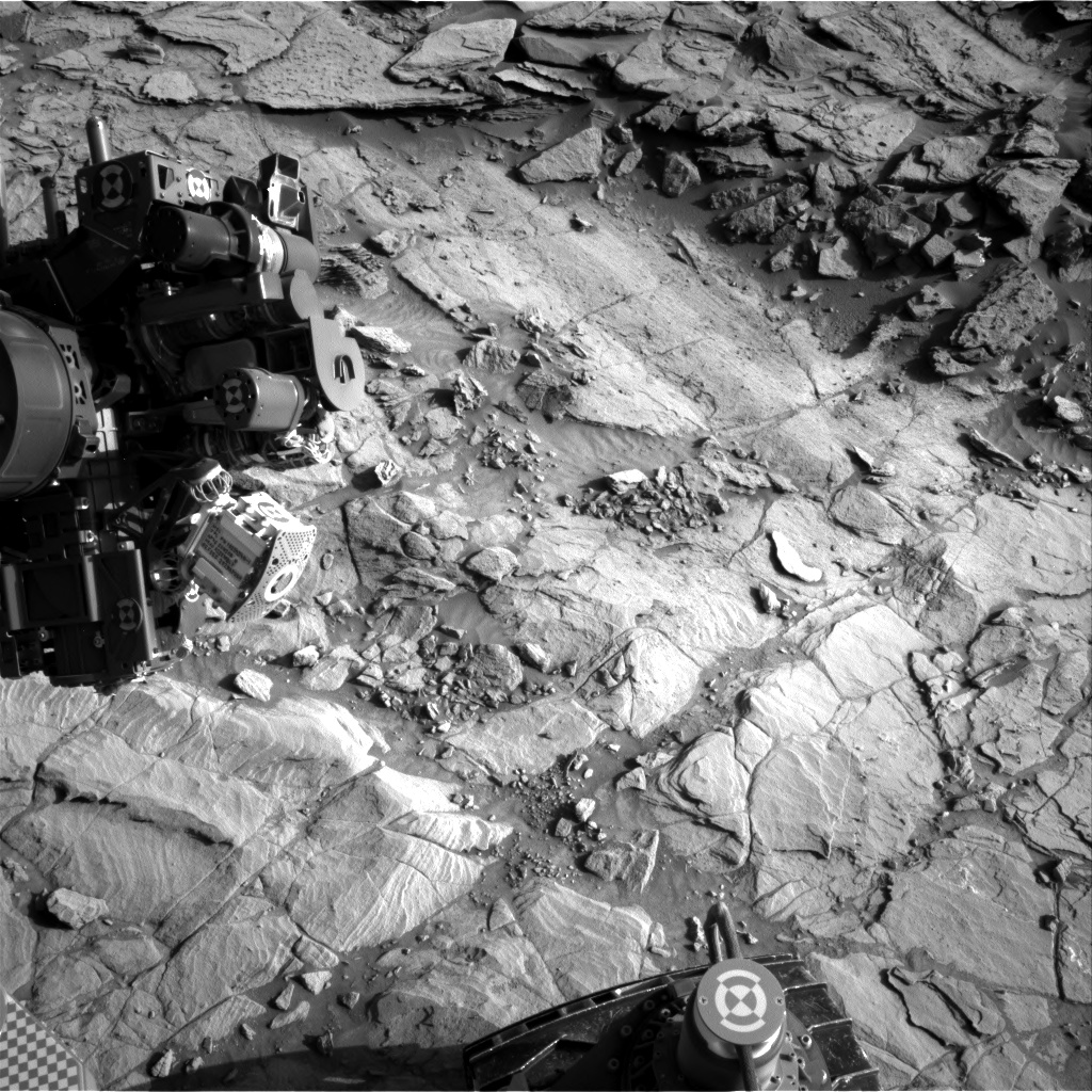 Nasa's Mars rover Curiosity acquired this image using its Right Navigation Camera on Sol 1133, at drive 676, site number 50
