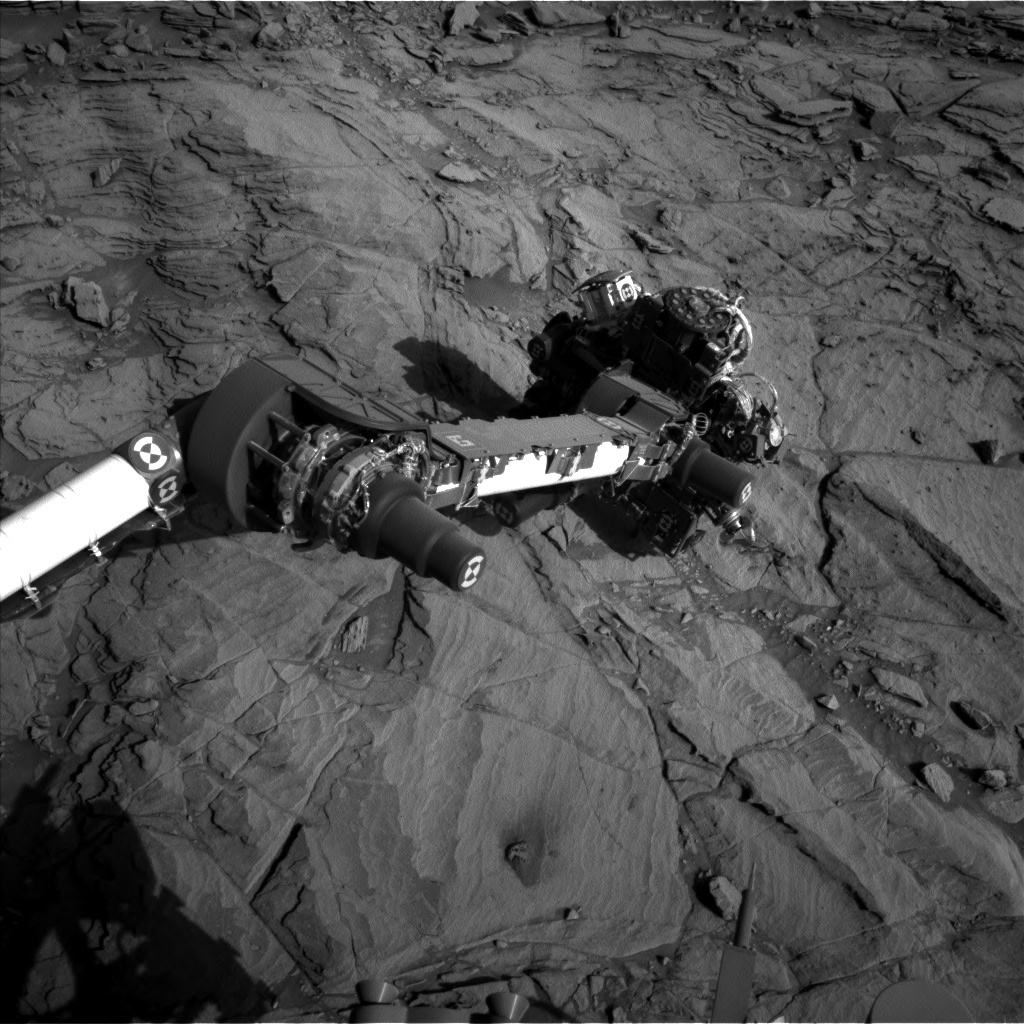 NASA's Mars rover Curiosity acquired this image using its Left Navigation Camera (Navcams) on Sol 1134