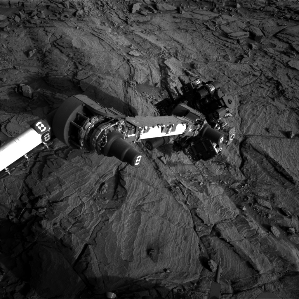 Nasa's Mars rover Curiosity acquired this image using its Left Navigation Camera on Sol 1134, at drive 676, site number 50