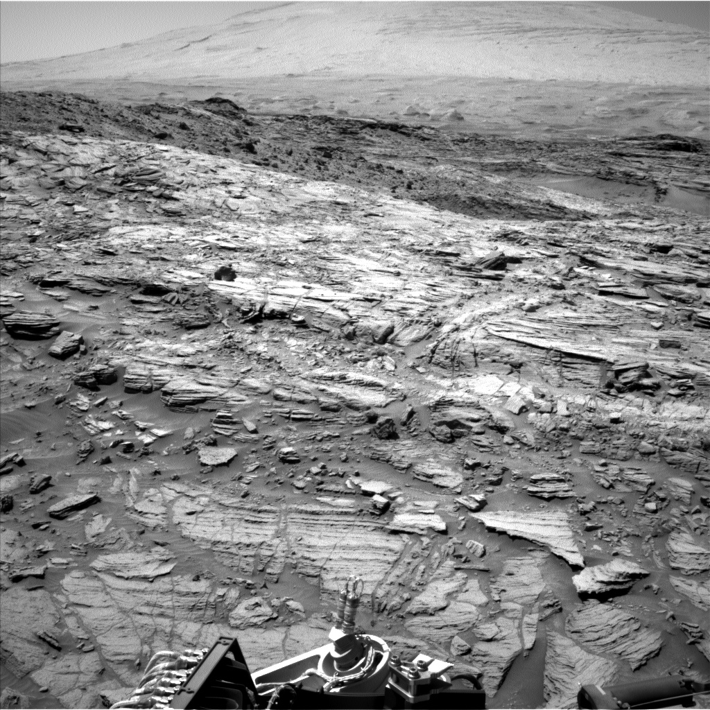 Nasa's Mars rover Curiosity acquired this image using its Left Navigation Camera on Sol 1136, at drive 676, site number 50