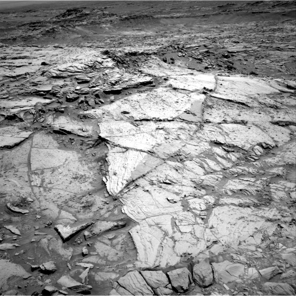 Nasa's Mars rover Curiosity acquired this image using its Right Navigation Camera on Sol 1136, at drive 676, site number 50
