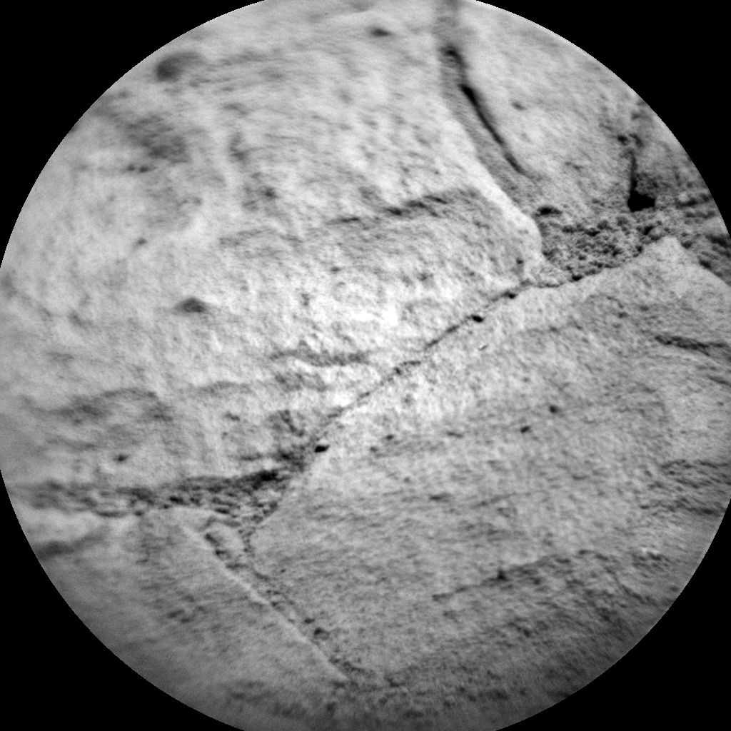 Nasa's Mars rover Curiosity acquired this image using its Chemistry & Camera (ChemCam) on Sol 1136, at drive 676, site number 50