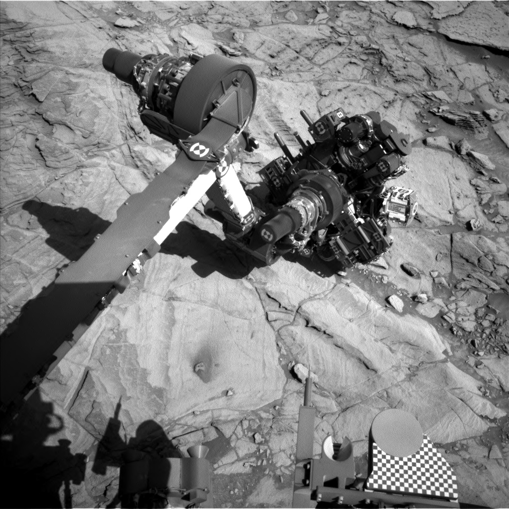 Nasa's Mars rover Curiosity acquired this image using its Left Navigation Camera on Sol 1137, at drive 676, site number 50