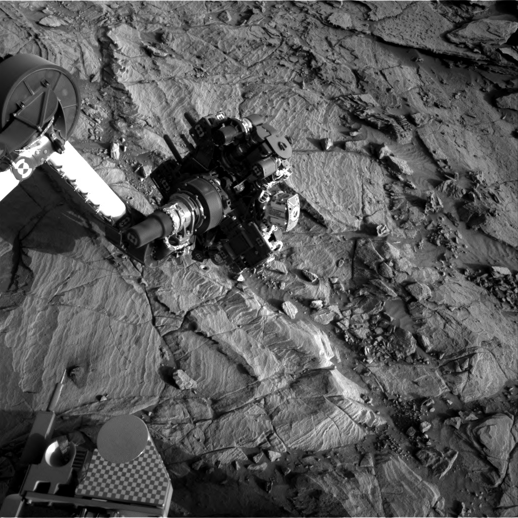 Nasa's Mars rover Curiosity acquired this image using its Right Navigation Camera on Sol 1137, at drive 676, site number 50