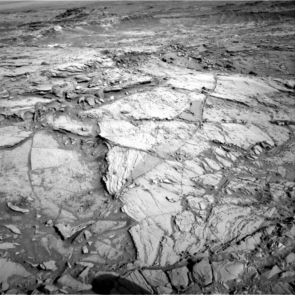 Nasa's Mars rover Curiosity acquired this image using its Right Navigation Camera on Sol 1138, at drive 676, site number 50