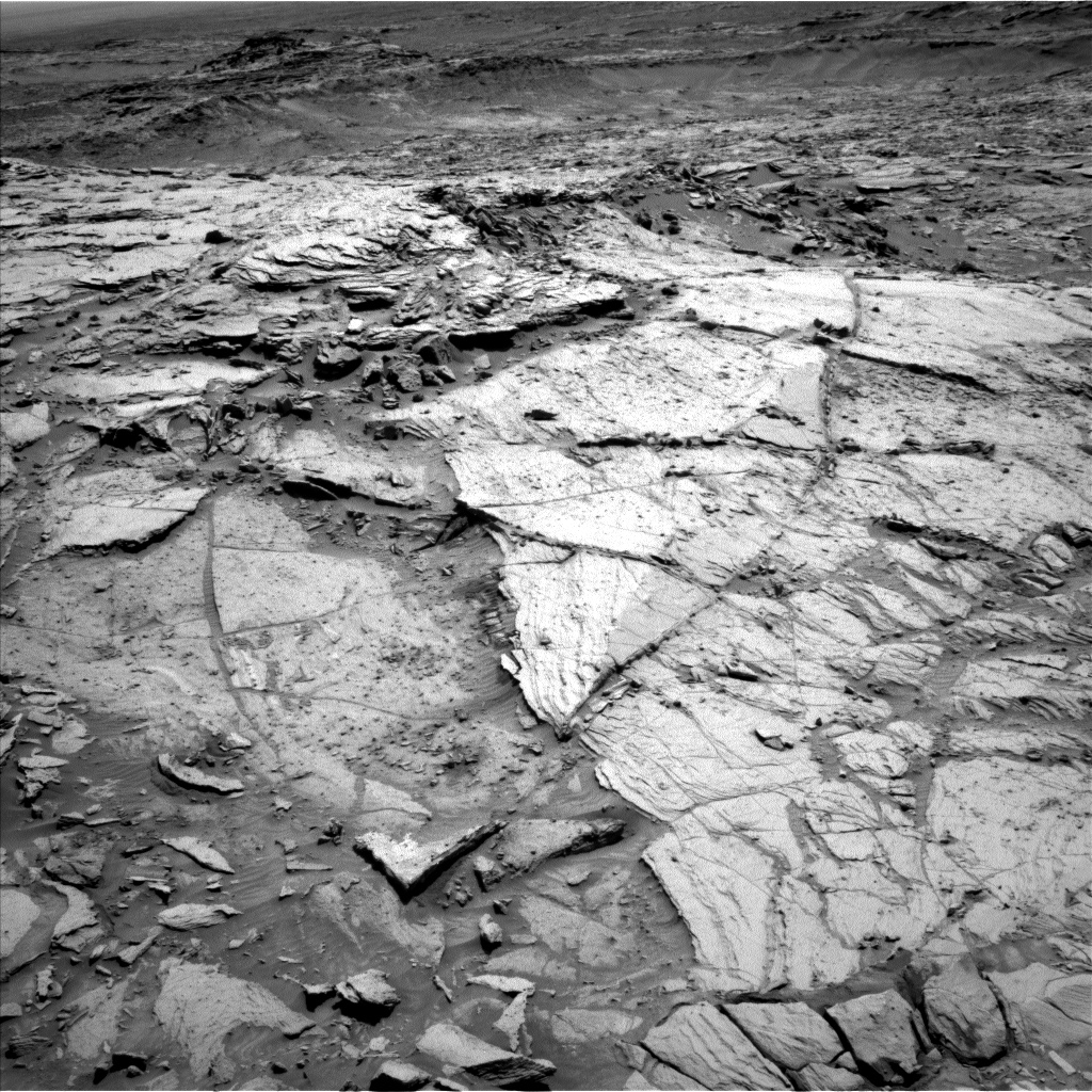 Nasa's Mars rover Curiosity acquired this image using its Left Navigation Camera on Sol 1139, at drive 676, site number 50