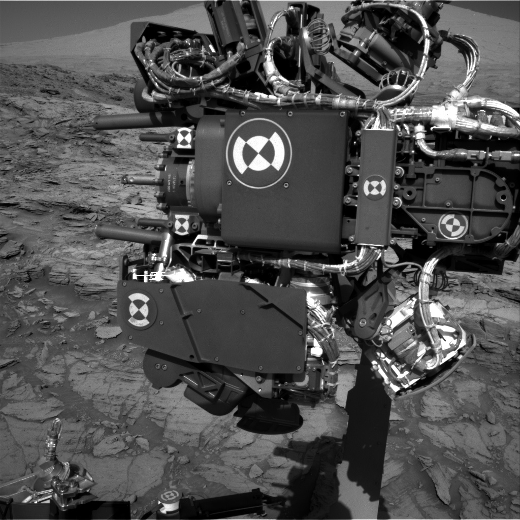 Nasa's Mars rover Curiosity acquired this image using its Right Navigation Camera on Sol 1140, at drive 676, site number 50