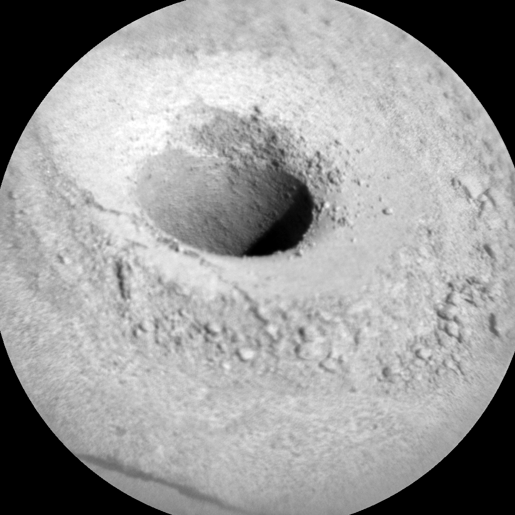 Nasa's Mars rover Curiosity acquired this image using its Chemistry & Camera (ChemCam) on Sol 1140, at drive 676, site number 50