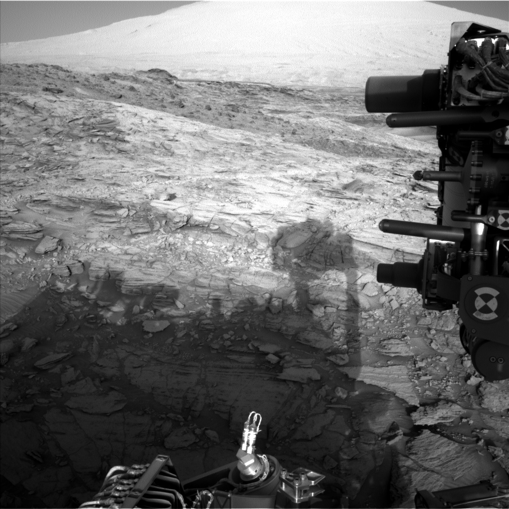 NASA's Mars rover Curiosity acquired this image using its Left Navigation Camera (Navcams) on Sol 1141