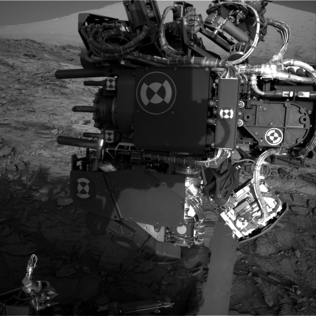 Nasa's Mars rover Curiosity acquired this image using its Right Navigation Camera on Sol 1141, at drive 676, site number 50
