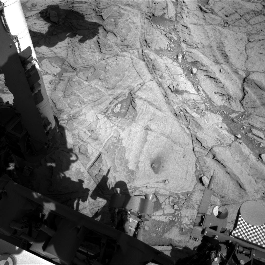 Nasa's Mars rover Curiosity acquired this image using its Left Navigation Camera on Sol 1142, at drive 676, site number 50