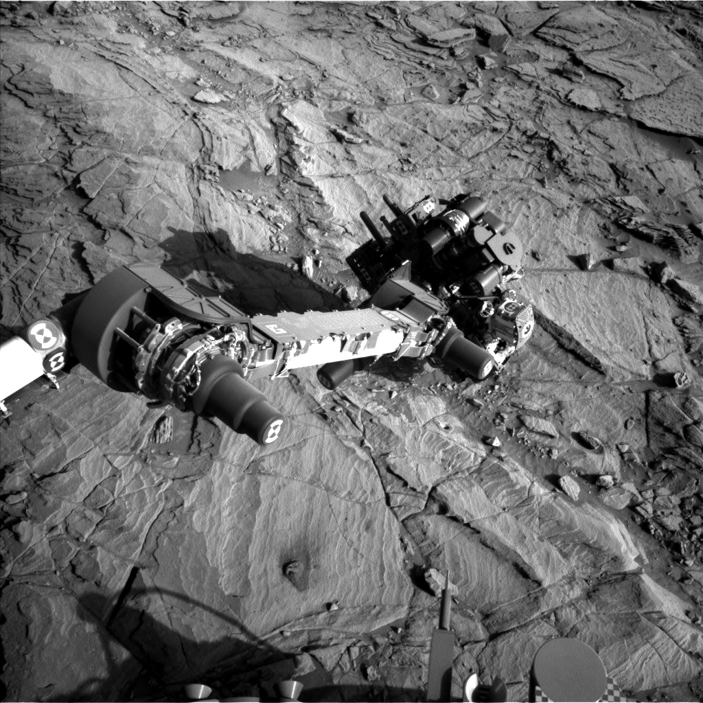 Nasa's Mars rover Curiosity acquired this image using its Left Navigation Camera on Sol 1143, at drive 676, site number 50