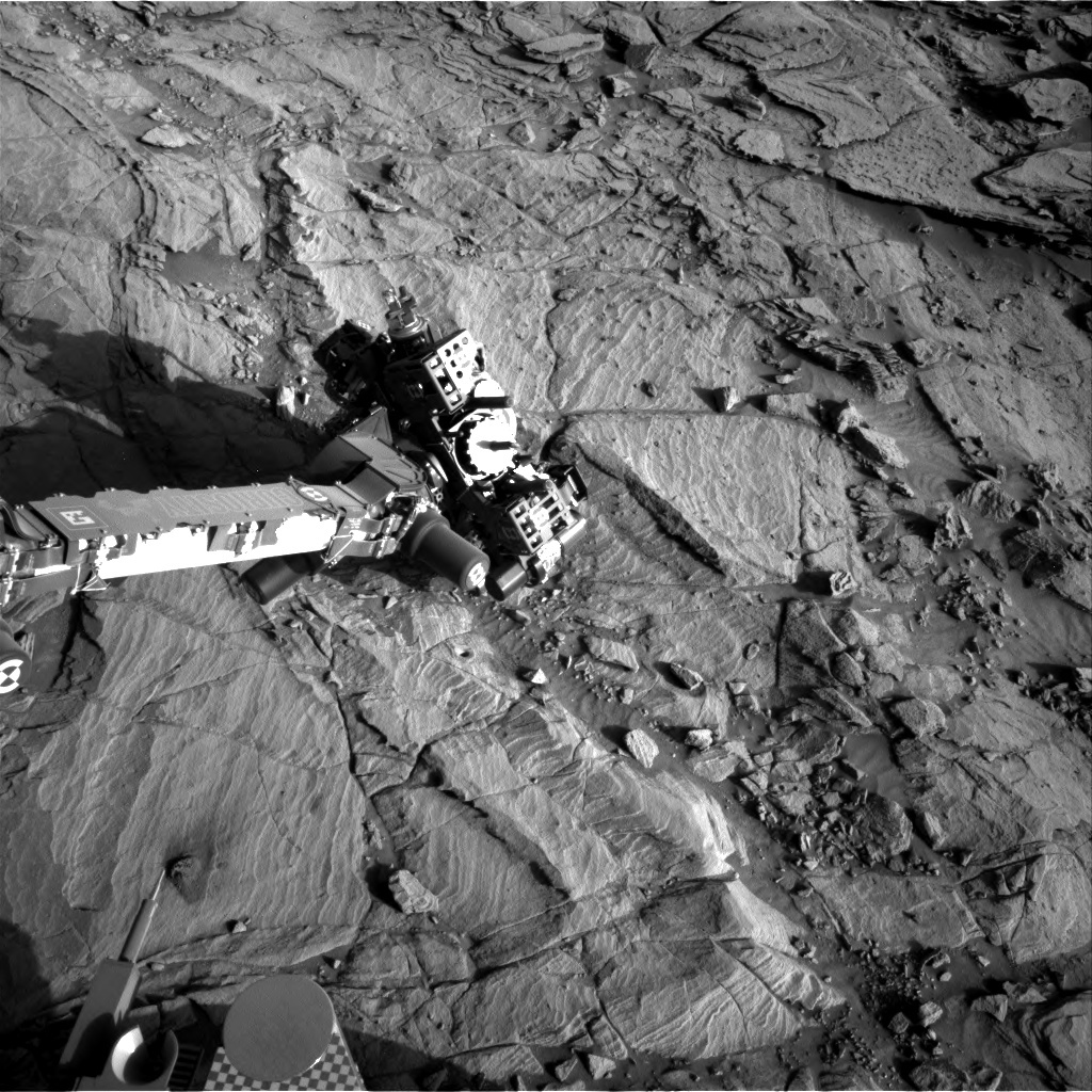 NASA's Mars rover Curiosity acquired this image using its Right Navigation Cameras (Navcams) on Sol 1143