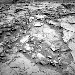 Nasa's Mars rover Curiosity acquired this image using its Left Navigation Camera on Sol 1144, at drive 676, site number 50