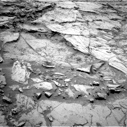 Nasa's Mars rover Curiosity acquired this image using its Left Navigation Camera on Sol 1144, at drive 718, site number 50