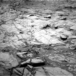 Nasa's Mars rover Curiosity acquired this image using its Left Navigation Camera on Sol 1144, at drive 754, site number 50