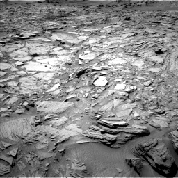 Nasa's Mars rover Curiosity acquired this image using its Left Navigation Camera on Sol 1144, at drive 838, site number 50
