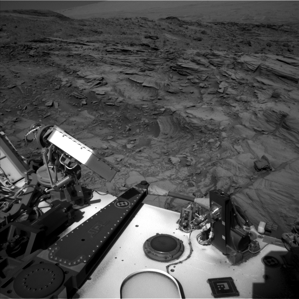 Nasa's Mars rover Curiosity acquired this image using its Left Navigation Camera on Sol 1144, at drive 848, site number 50