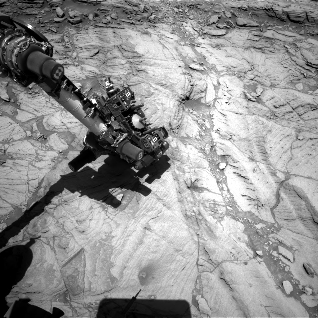 Curiosity conducts some final observations at Greenhorn