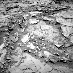 Nasa's Mars rover Curiosity acquired this image using its Right Navigation Camera on Sol 1144, at drive 682, site number 50