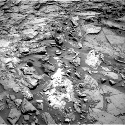 Nasa's Mars rover Curiosity acquired this image using its Right Navigation Camera on Sol 1144, at drive 706, site number 50