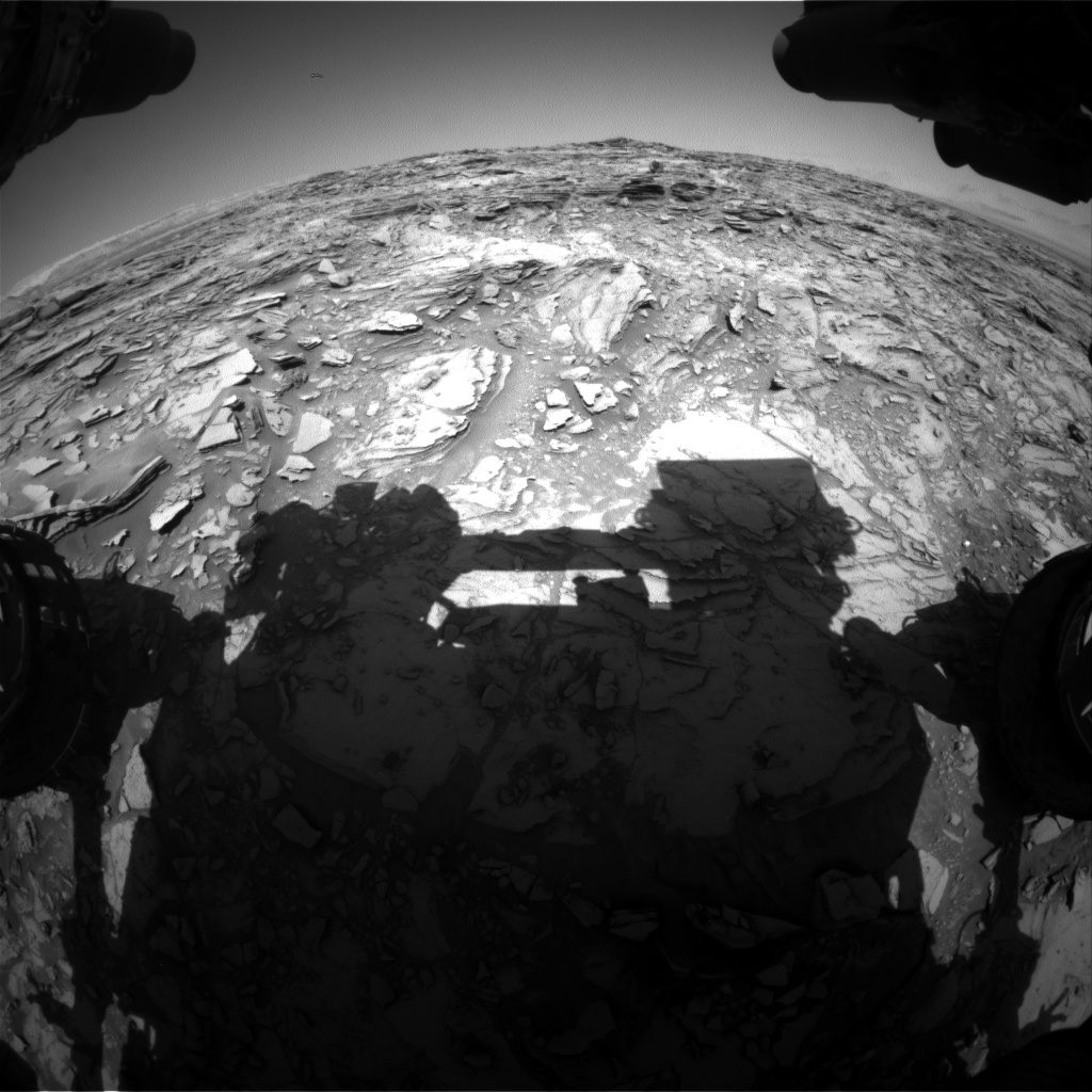 Nasa's Mars rover Curiosity acquired this image using its Front Hazard Avoidance Camera (Front Hazcam) on Sol 1146, at drive 848, site number 50
