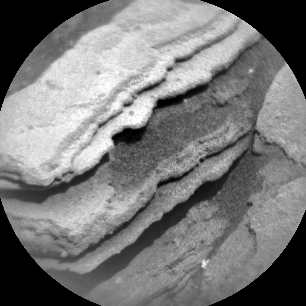 Nasa's Mars rover Curiosity acquired this image using its Chemistry & Camera (ChemCam) on Sol 1146, at drive 848, site number 50