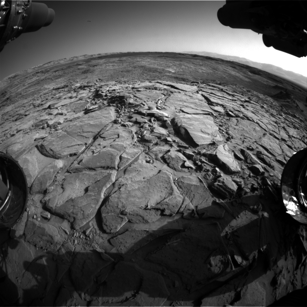 Nasa's Mars rover Curiosity acquired this image using its Front Hazard Avoidance Camera (Front Hazcam) on Sol 1148, at drive 1116, site number 50