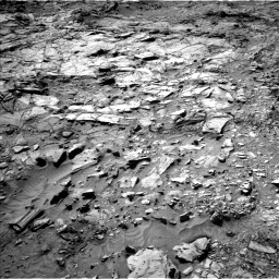 Nasa's Mars rover Curiosity acquired this image using its Left Navigation Camera on Sol 1148, at drive 884, site number 50