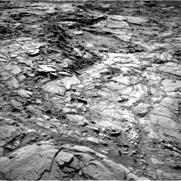 Nasa's Mars rover Curiosity acquired this image using its Left Navigation Camera on Sol 1148, at drive 938, site number 50
