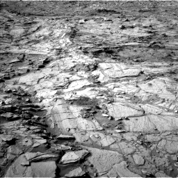 Nasa's Mars rover Curiosity acquired this image using its Left Navigation Camera on Sol 1148, at drive 986, site number 50