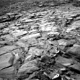 Nasa's Mars rover Curiosity acquired this image using its Left Navigation Camera on Sol 1148, at drive 1070, site number 50