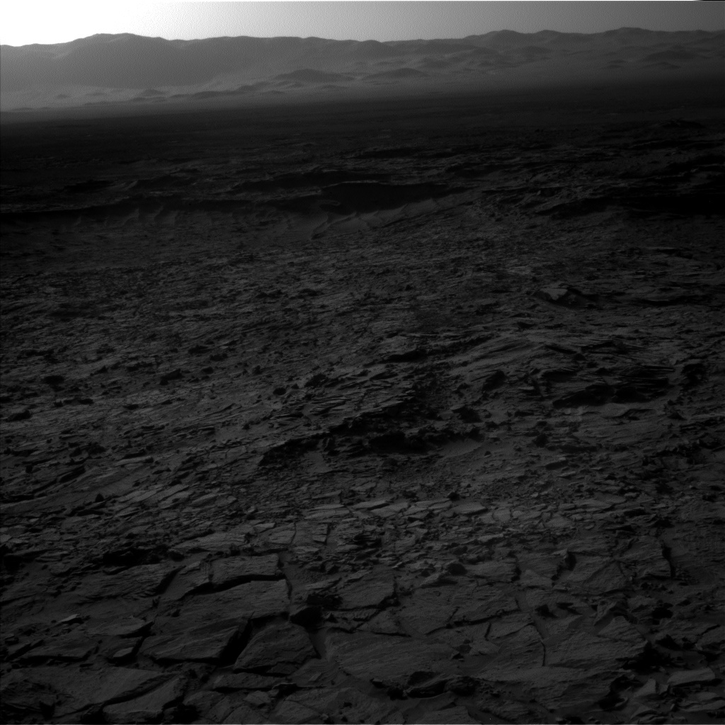 NASA's Mars rover Curiosity acquired this image using its Left Navigation Camera (Navcams) on Sol 1148