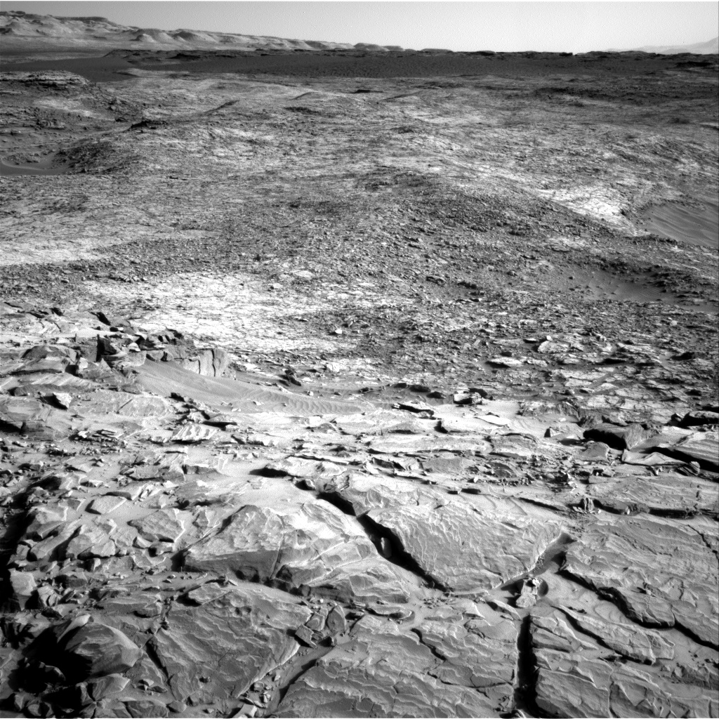 Nasa's Mars rover Curiosity acquired this image using its Right Navigation Camera on Sol 1148, at drive 1116, site number 50