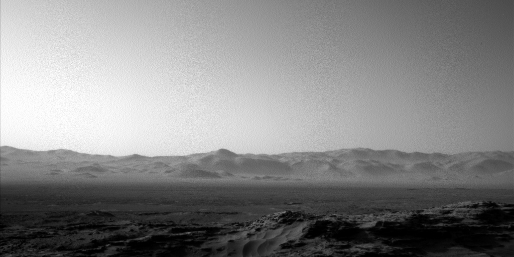 Nasa's Mars rover Curiosity acquired this image using its Left Navigation Camera on Sol 1149, at drive 1116, site number 50