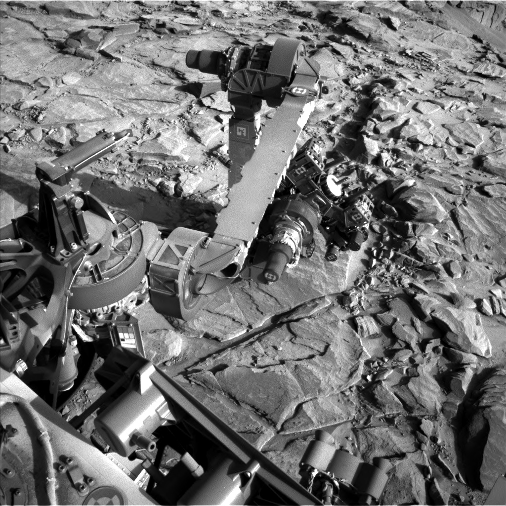 Nasa's Mars rover Curiosity acquired this image using its Left Navigation Camera on Sol 1150, at drive 1116, site number 50