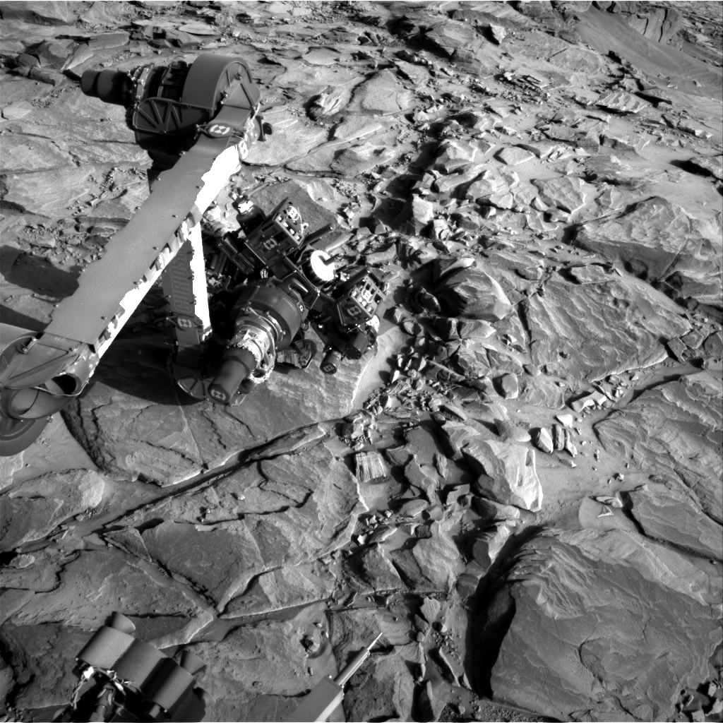Nasa's Mars rover Curiosity acquired this image using its Right Navigation Camera on Sol 1150, at drive 1116, site number 50