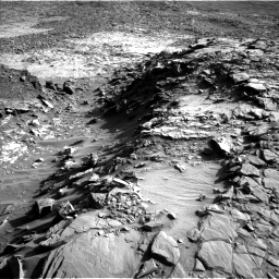 Nasa's Mars rover Curiosity acquired this image using its Left Navigation Camera on Sol 1151, at drive 1222, site number 50
