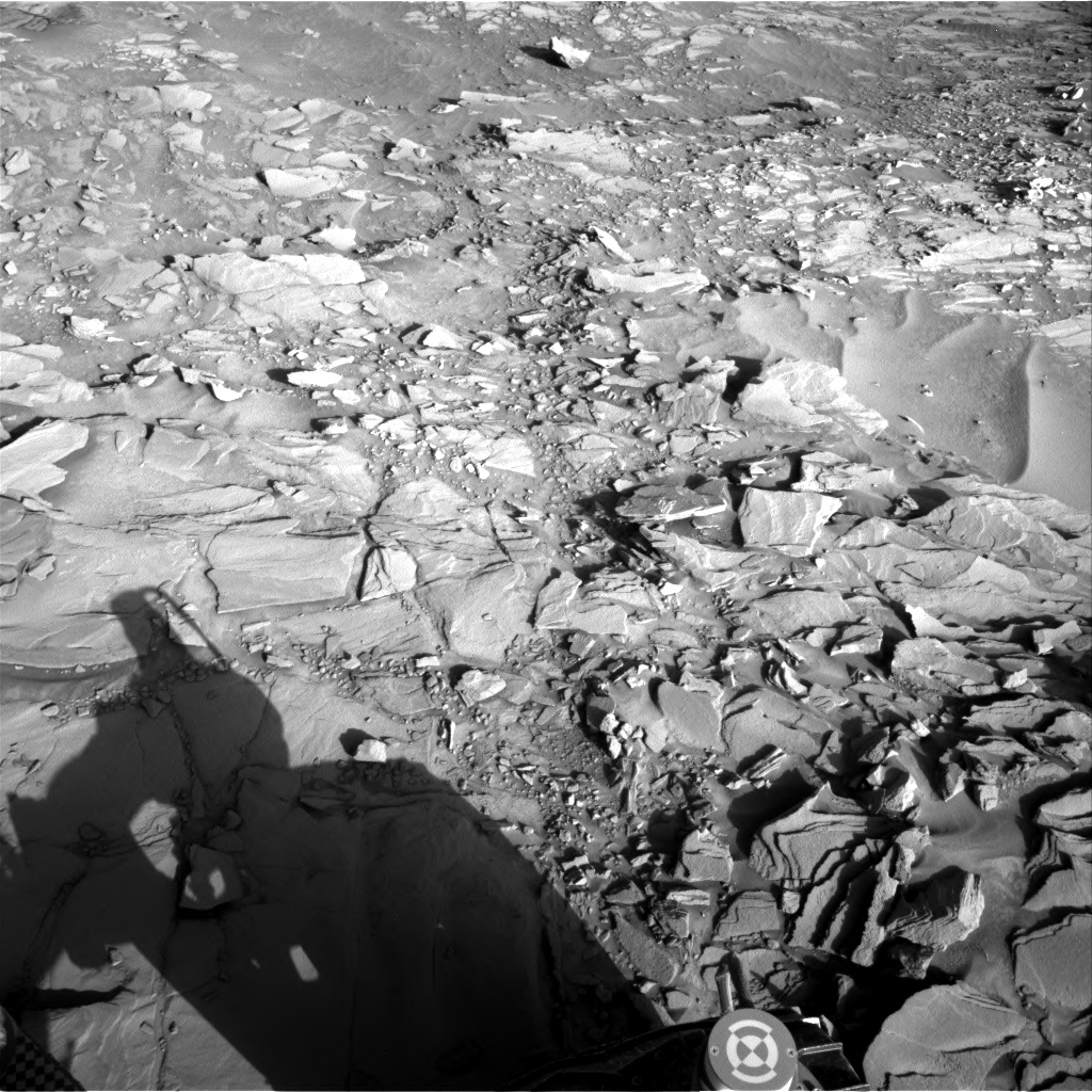 Nasa's Mars rover Curiosity acquired this image using its Right Navigation Camera on Sol 1151, at drive 1222, site number 50