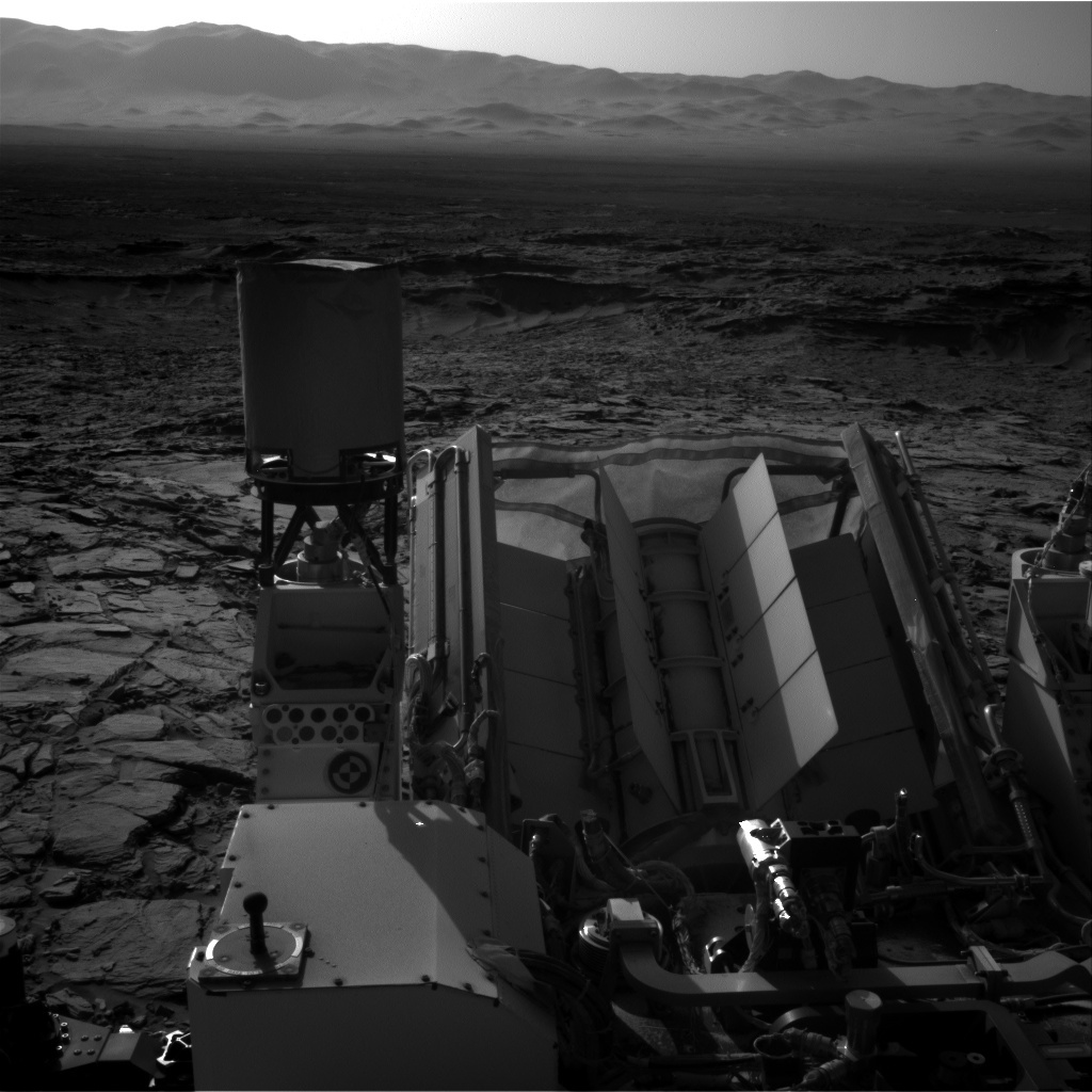 NASA's Mars rover Curiosity acquired this image using its Right Navigation Cameras (Navcams) on Sol 1151