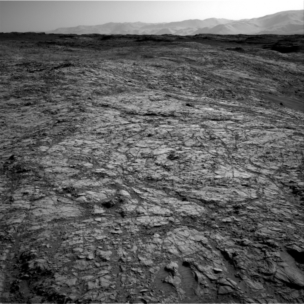 Nasa's Mars rover Curiosity acquired this image using its Right Navigation Camera on Sol 1153, at drive 1624, site number 50