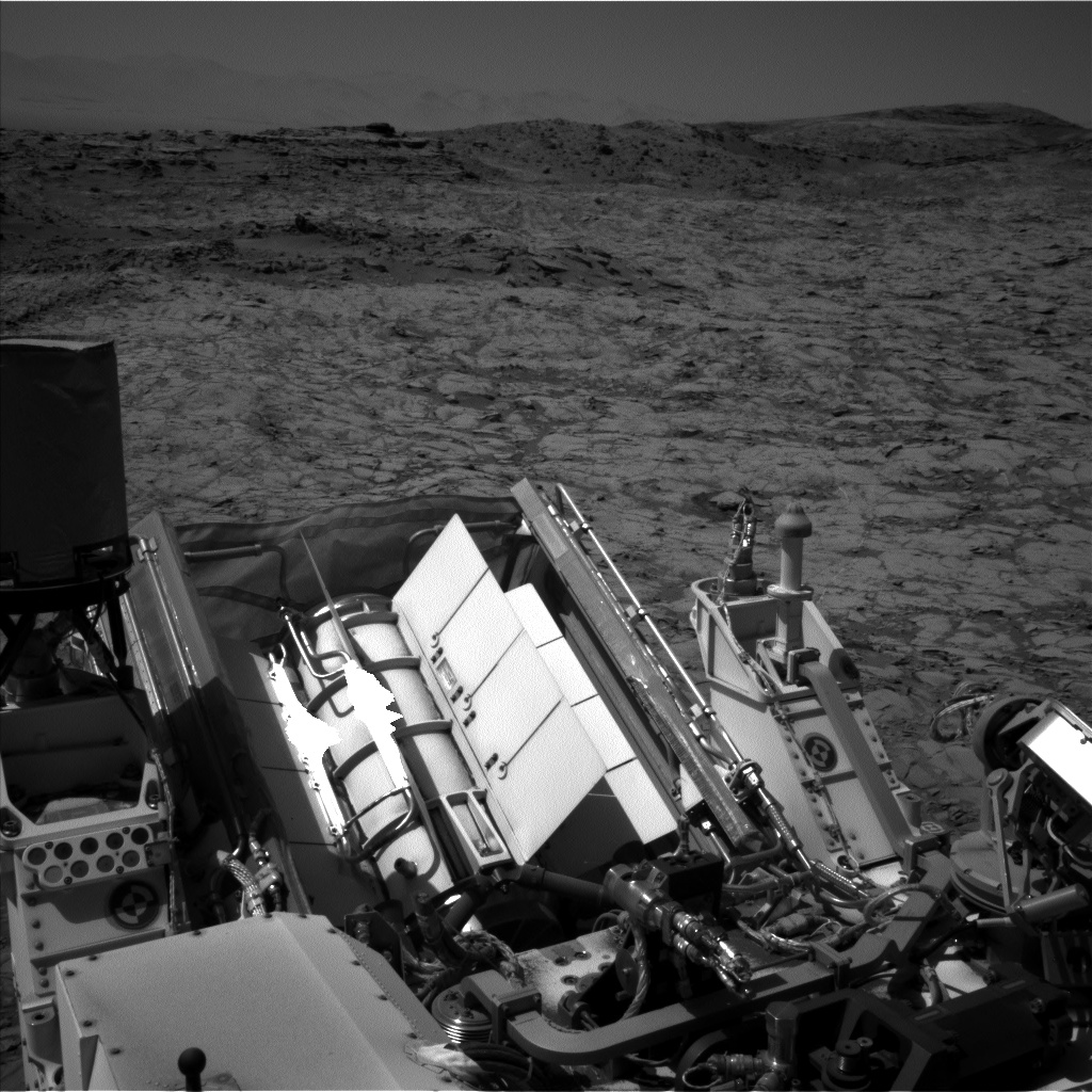 Nasa's Mars rover Curiosity acquired this image using its Left Navigation Camera on Sol 1154, at drive 1624, site number 50