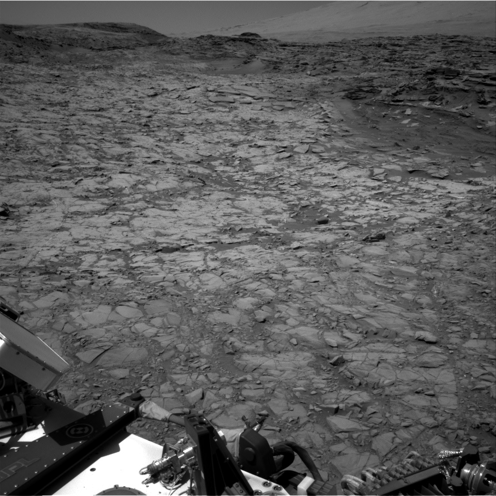 Nasa's Mars rover Curiosity acquired this image using its Right Navigation Camera on Sol 1154, at drive 1624, site number 50