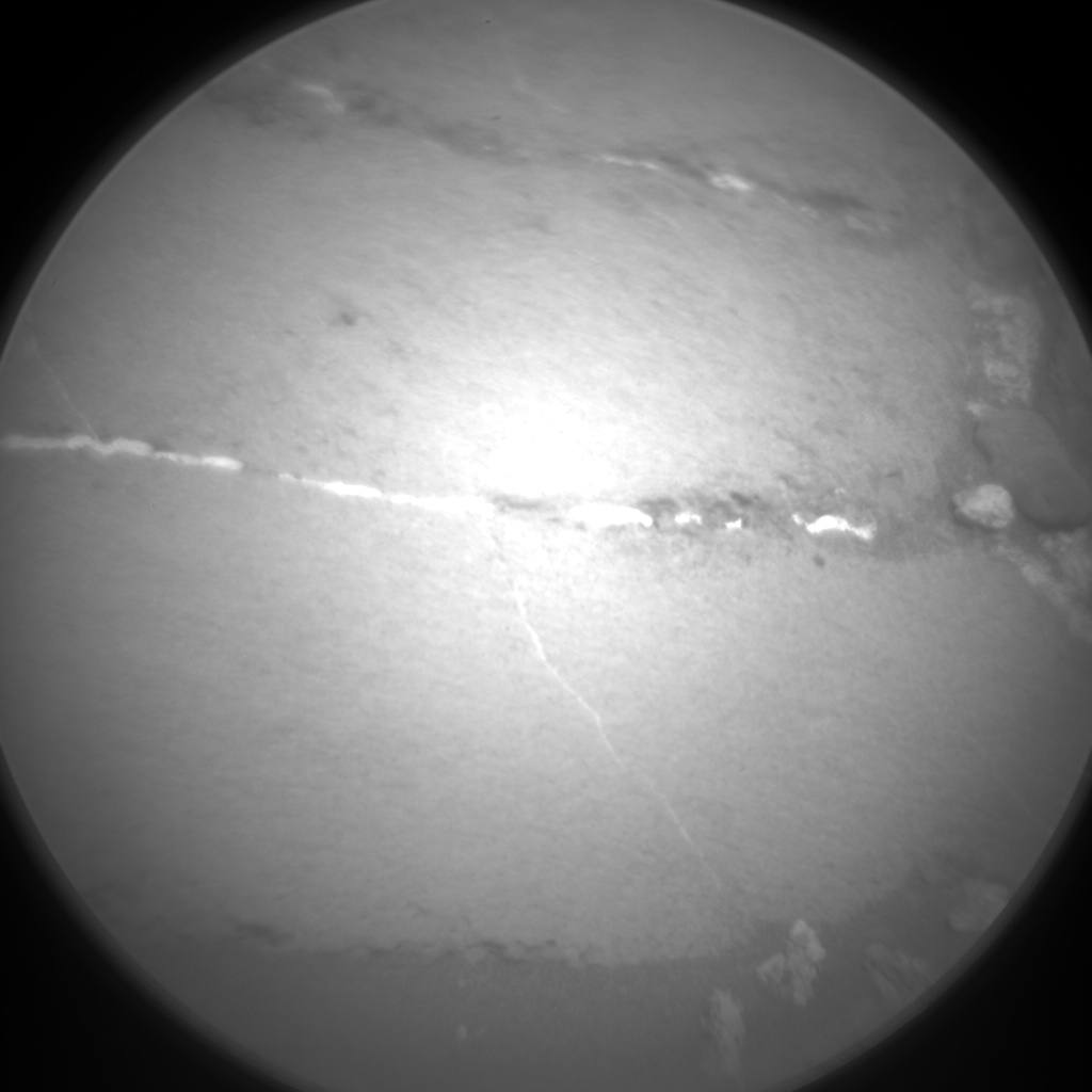 Nasa's Mars rover Curiosity acquired this image using its Chemistry & Camera (ChemCam) on Sol 1155, at drive 1624, site number 50