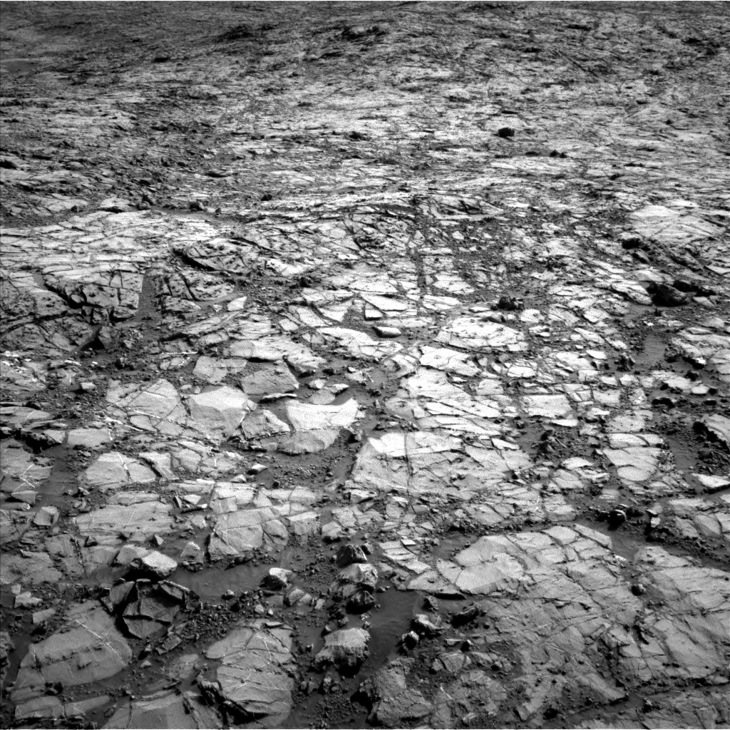 Nasa's Mars rover Curiosity acquired this image using its Left Navigation Camera on Sol 1155, at drive 1882, site number 50