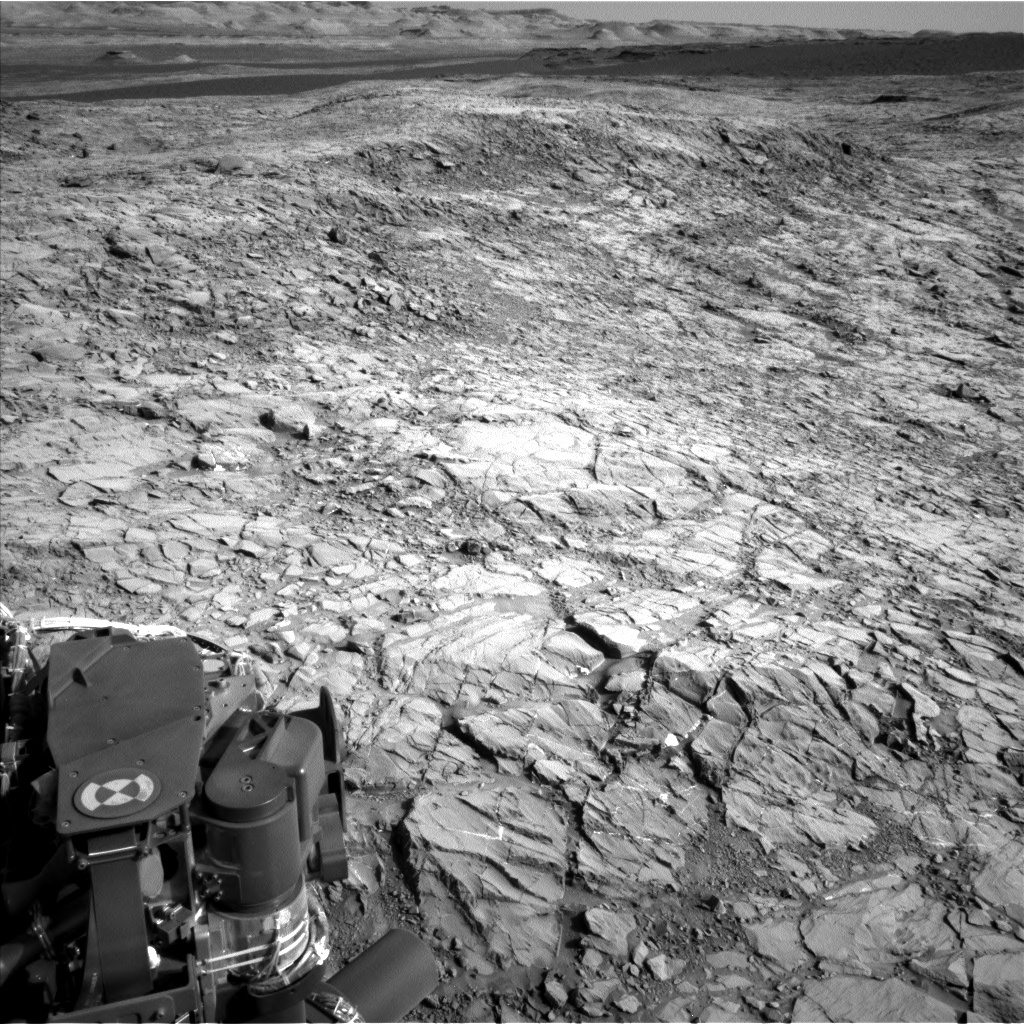 Nasa's Mars rover Curiosity acquired this image using its Left Navigation Camera on Sol 1155, at drive 1928, site number 50