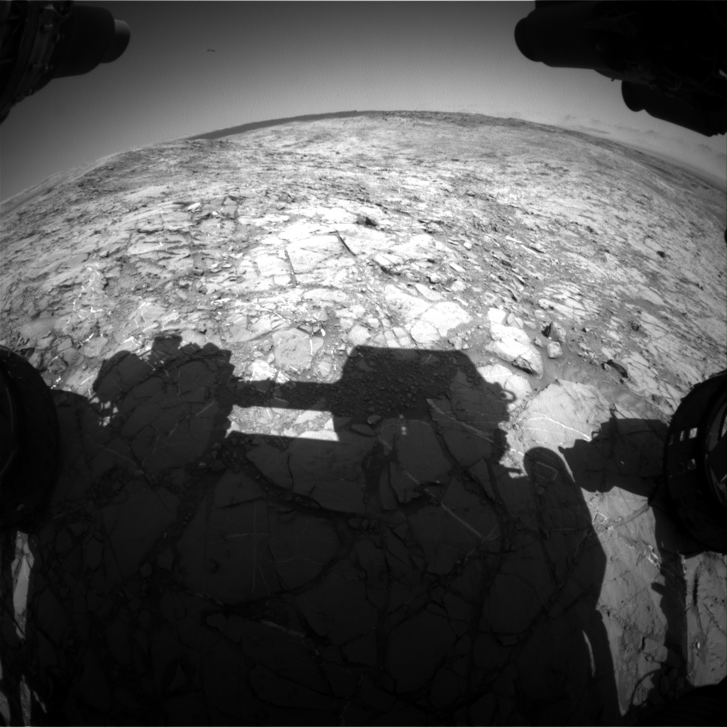 Nasa's Mars rover Curiosity acquired this image using its Front Hazard Avoidance Camera (Front Hazcam) on Sol 1156, at drive 1928, site number 50
