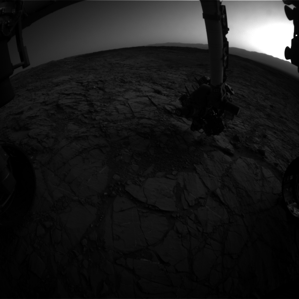 Nasa's Mars rover Curiosity acquired this image using its Front Hazard Avoidance Camera (Front Hazcam) on Sol 1157, at drive 1928, site number 50