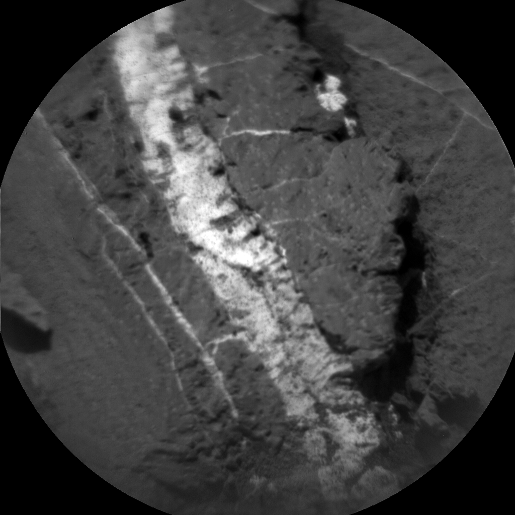 Nasa's Mars rover Curiosity acquired this image using its Chemistry & Camera (ChemCam) on Sol 1157, at drive 1928, site number 50